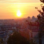 Paris - Lever du soleil