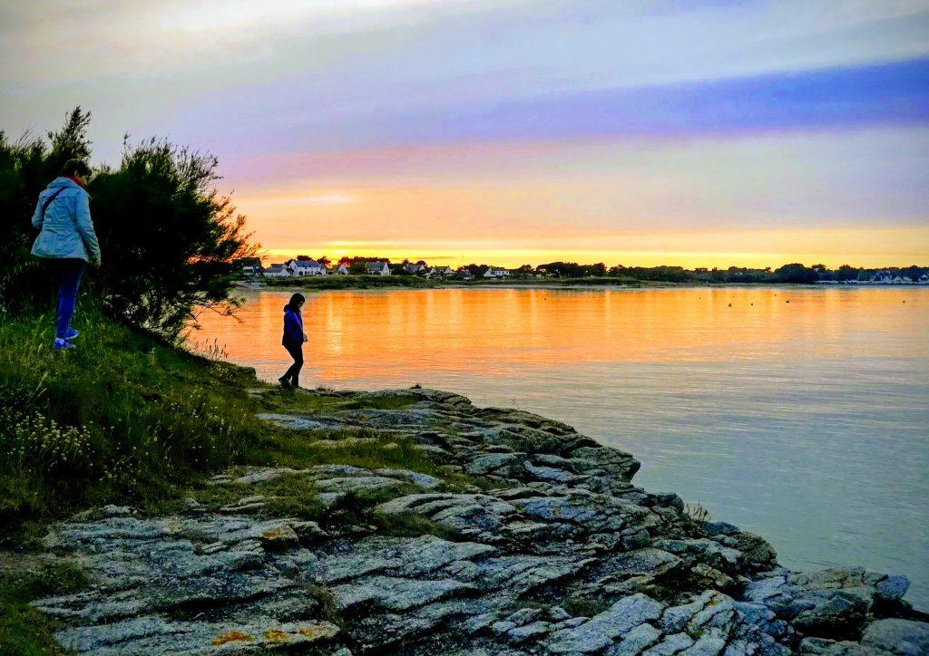 Quiberon - coucher de soleil